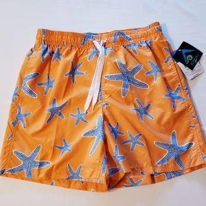Kanu Surf Starfish Orange Swim Trunks - Size L
